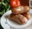 Домашняя свиная колбаса с аджикой